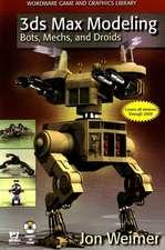 3ds Max Modeling: Bots, Mechs & Droids