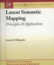 Latent Semantic Mapping