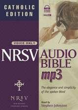 Catholic Bible-NRSV-Voice Only