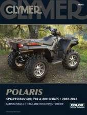 Clymer Polaris Sportsman 600, 700, & 800 Series 2002-2010:  Maintenance, Troubleshooting, Repair