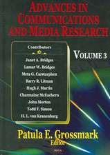 Advances in Communications & Media Research: Volume 4