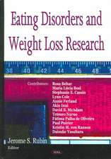 Eating Disorders & Weight Loss Research