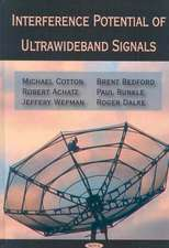 Interference Potential of Ultrawideband Signals