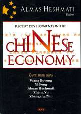 Recent Developments in the Chinese Economy