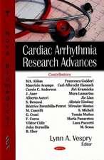 Cardiac Arrythmia Research Advances