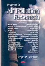 Progress in Air Pollution Research