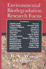 Environmental Biodegradation Research Focus