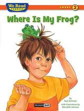 Where Is My Frog?
