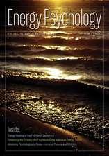 Energy Psychology Journal 5:  2