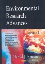 Environmental Research Advances