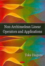 Non-Archimedean Linear Operators and Applications