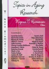 Topics in Aging Research