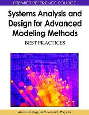 Systems Analysis and Design for Advanced Modeling Methods