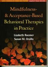 Mindfulness- And Acceptance-Based Behavioral Therapies in Practice:  School-Based Prevention, Assessment, and Intervention