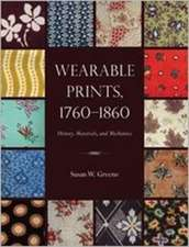 WEARABLE PRINTS 1760-1860