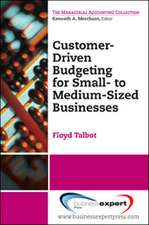 Customer-Driven Budgeting