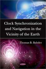 Clock Synchronization and Navigation in the Vicinity of the Earth