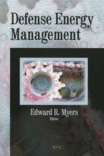 Defense Energy Management