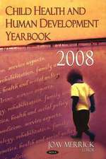 Child Health and Human Development Yearbook