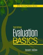 McCain, D:  Evaluation Basics