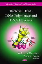 Bacterial DNA, DNA Polymerase and DNA Helicases
