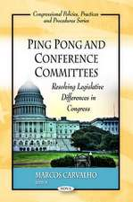 Ping Pong and Conference Committees