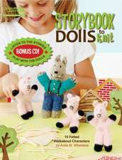 Storybook Dolls to Knit [With CD (Audio)]