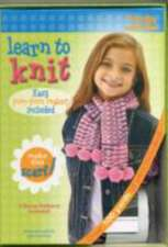 Learn to Knit [With 7 Knitting Needles, Tassel Maker, Yarn Needle and POM-POM Scarf]