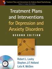Treatment Plans and Interventions for Depression and Anxiety Disorders [With CDROM]:  A Guide for Professionals
