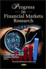 Progress in Financial Markets Research
