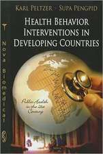 Health Behaviour Interventions in Developing Countries