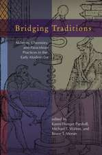 Bridging Traditions: Alchemy, Chemistry & Paracelsian Practices in the Early Modern ERA -- Essays in Honor of Allen G Debus