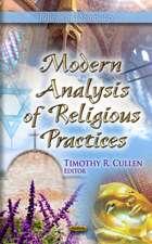 Modern Analysis of Religious Practices