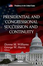 Presidential & Congressional Succession & Continuity