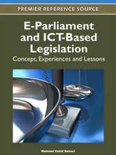 E-Parliament and Ict-Based Legislation