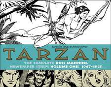 Tarzan:  The Complete Russ Manning Newspaper Strips, Volume 1 1967-1969