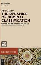 The Dynamics of Nominal Classification: Productive and Lexicalised Uses of Gender Agreement in Mawng