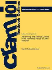 Studyguide for Advertising and Satirical Culture in the Romantic Period by Strachan, John, ISBN 9780521882149