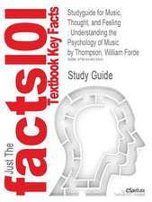 Studyguide for Music, Thought, and Feeling