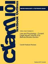 Studyguide for Law and Psychology