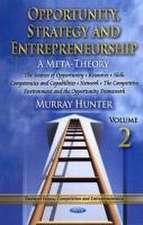 Opportunity, Strategy & Entrepreneurship