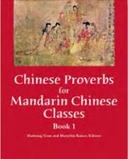 Chinese Proverbs for Mandarin Classes: Book 1