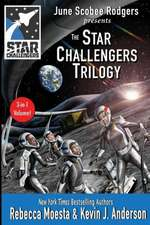 Star Challengers Trilogy:  Moonbase Crisis, Space Station Crisis, Asteroid Crisis