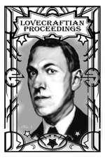 Lovecraftian Proceedings No. 1