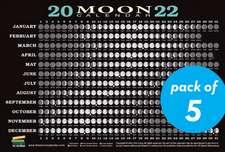 2022 Moon Calendar Card (5 Pack)