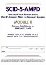 Structured Clinical Interview for the DSM-5 (R) Alternative Model for Personality Disorders (SCID-5-AMPD) Module II