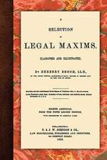 A Selection of Legal Maxims