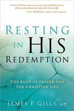 Resting in His Redemption
