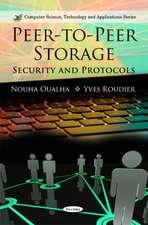 Peer-to-Peer Storage