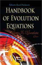 Handbook of Evolution Equations